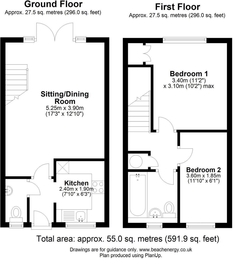Floor plan Mandrill Close, Cambridge